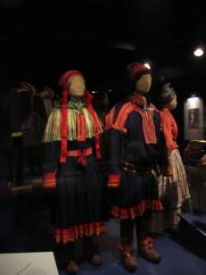 Traditional Lapland dress